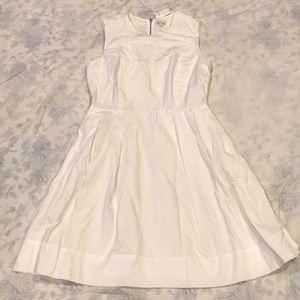 NWT White Thin Stripe Dress by Gap
